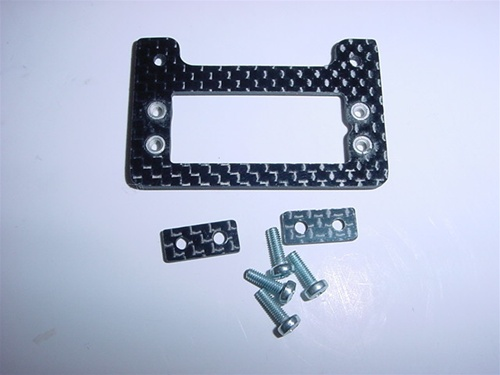 Custom Heli Parts - T-Rex 500 Carbon Fiber Mini Tail Servo Mount